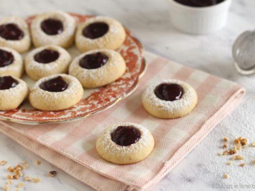 Biscotti alla marmellata e nocciole tirolesi: gli Ussari