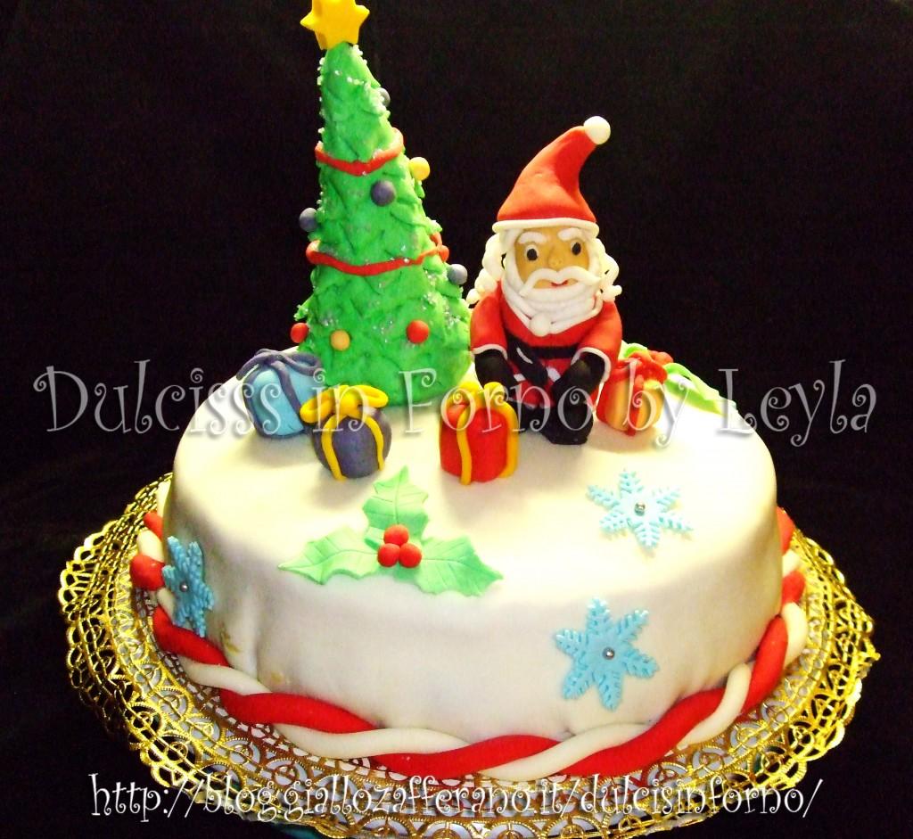 Cake Design Ricette Torte : Torta natalizia decorata: la mia prima torta decorata per ...