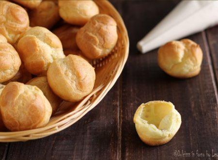 Pasta choux o pasta bignè, ricetta base dei bignè
