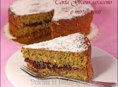 Torta grano saraceno e mirtilli rossi, ricetta dell'Alto Adige