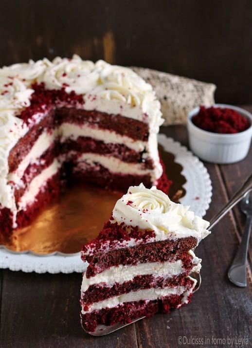 Red Velvet Cake ricetta originale Torta Red Velvet Cake