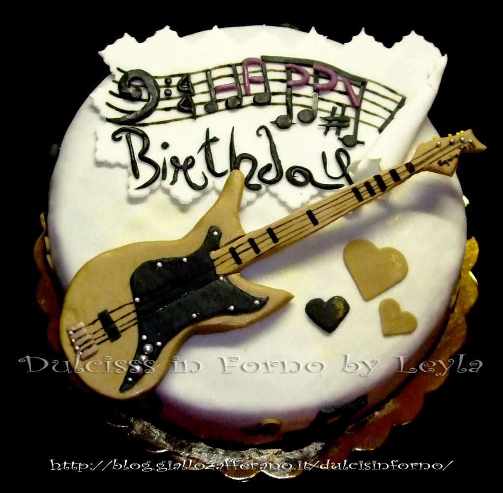 Brian Guitar Cake