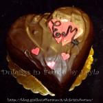 Sacher cuoriciosa, con forma a cuore per San Valentino