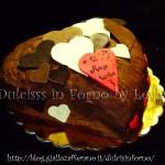 Torta Cascata di cuori di cioccolato per San Valentino | Dulcisss in forno |
