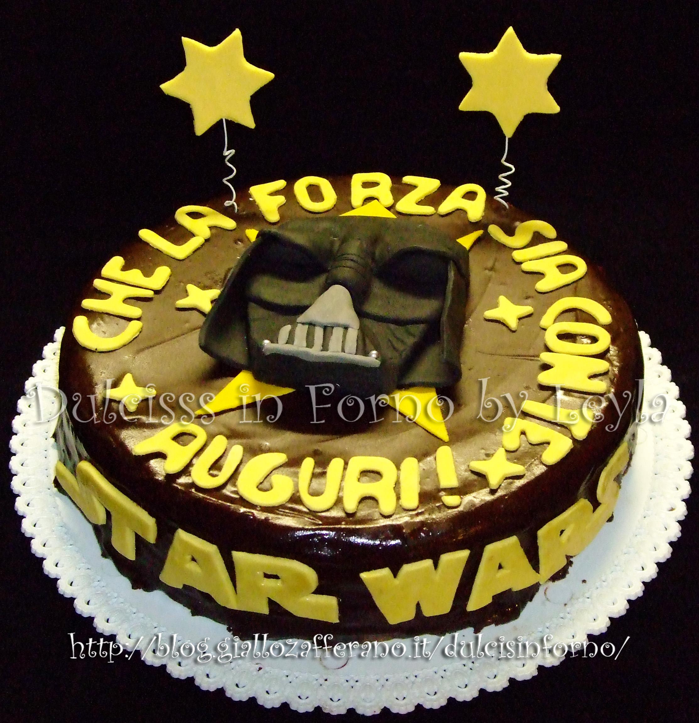 abbastanza Star Wars Cake - torta Guerre Stellari, decorata in pasta di zucchero EO91