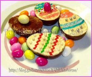 Ovetti al tiramisu ricetta di Pasqua ricetta pasquale ricetta per Pasqua Dulcisss in forno