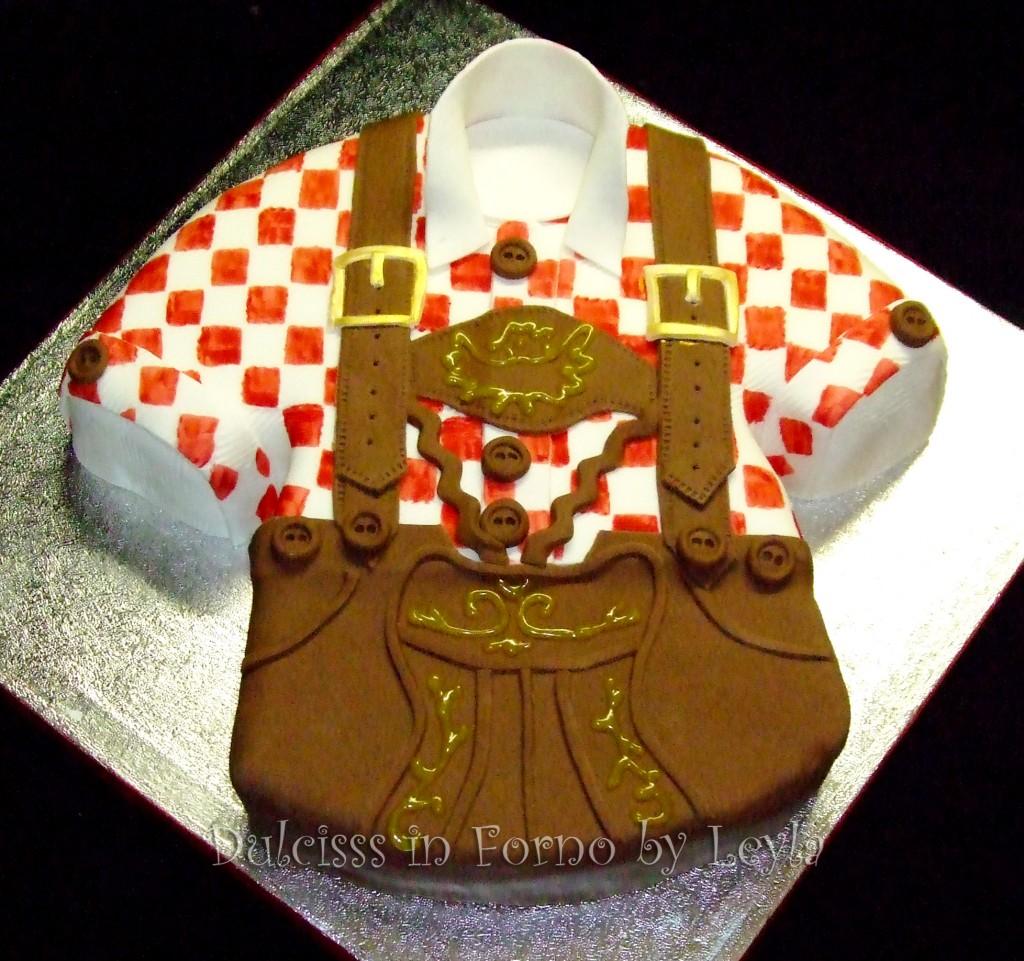Torta decorata tirolese