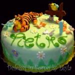 Torta decorata Tigro di Winnie The Pooh