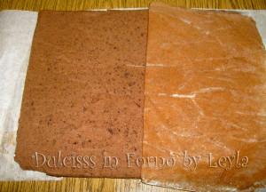 Rotolo di pan di spagna al cioccolato | ricetta base | Dulcisss in forno
