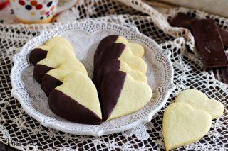 Biscotti al burro semplici - biscotti cuoricini