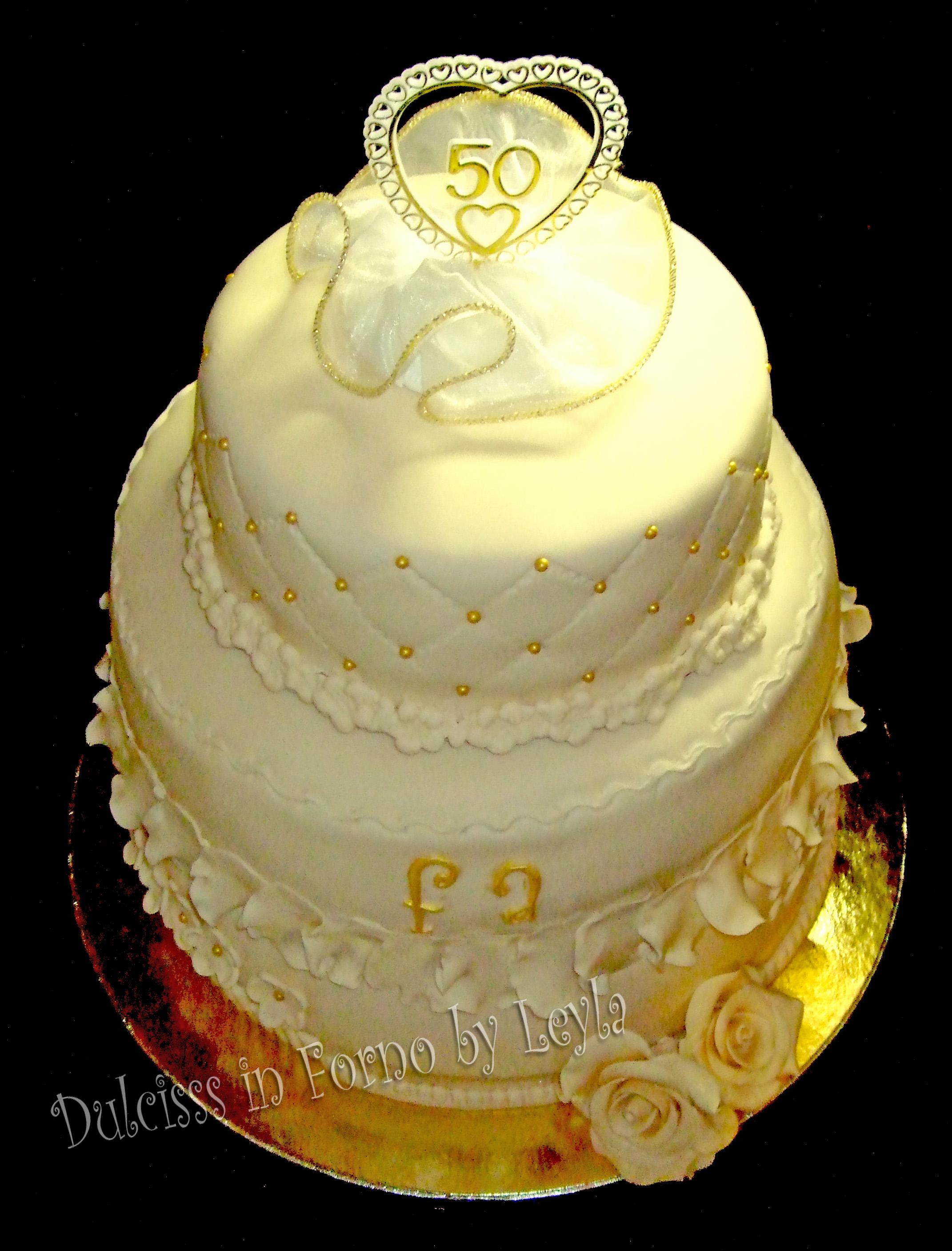 50 ° anniversario di nozze immagini