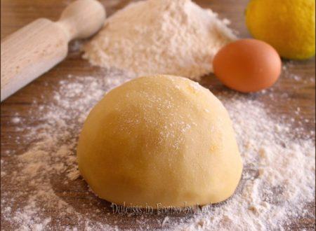 Pasta frolla per biscotti, ricetta base