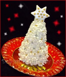 Albero di Natale – Christmas Tree, tutorial pasta di zucchero | Dulcisss in forno |
