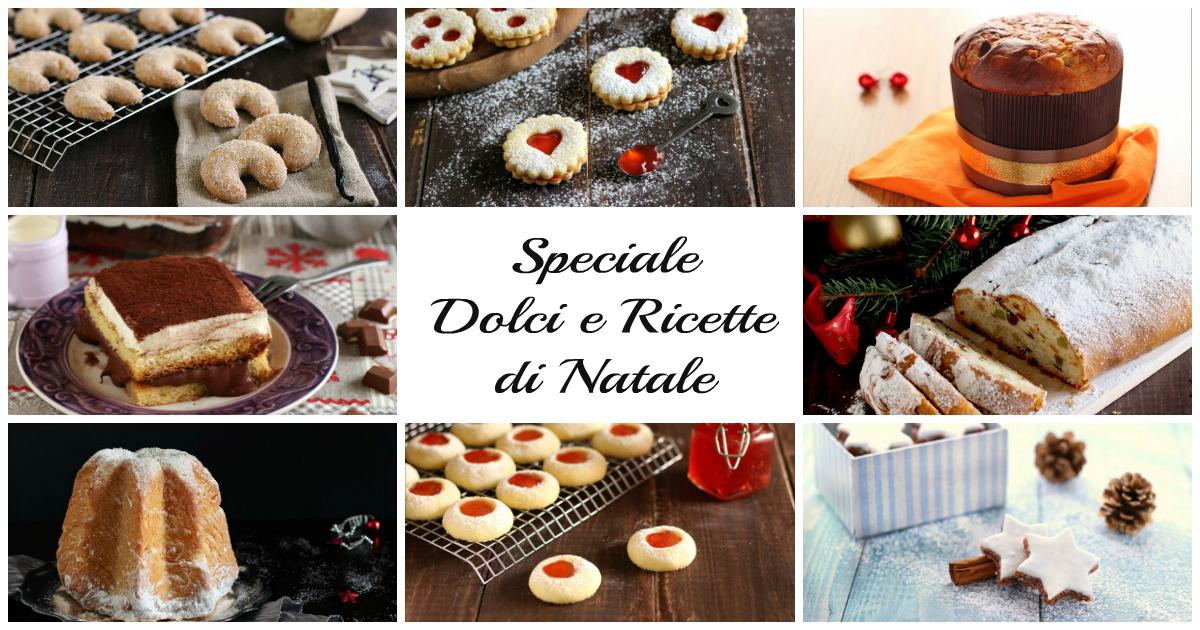 Ricette di natale biscotti e dolci natalizi speciale natale for Dolci e ricette