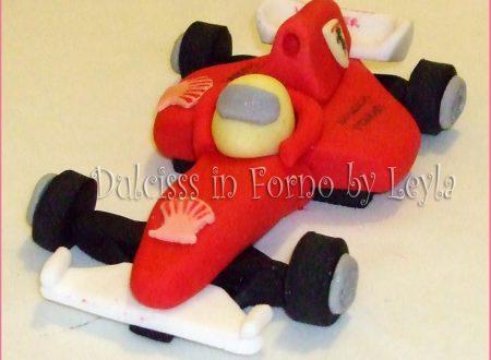 Ferrari F1 in pasta di zucchero, tutorial passo passo