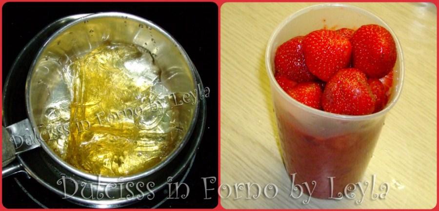 Mousse o crema alle fragole, ricetta base crema per farcire farcia crema di fragole mousse di fragole ricetta estiva Dulcisss in forno