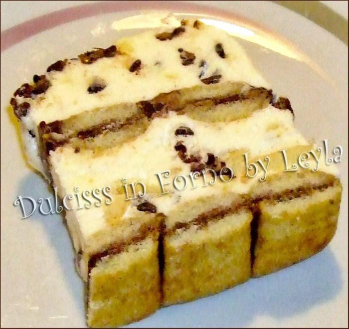 Semifreddo panna cioccolato, ricetta estiva meringa italiana meringa all'italiana semifreddo Luca Montersino ricetta dolce ricetta fresca ricetta golosa ricetta veloce pavesini gocce cioccolato ricetta fredda