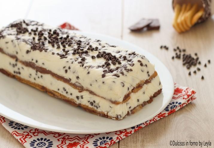 Semifreddo panna cioccolato Dulcisss in forno by Leyla