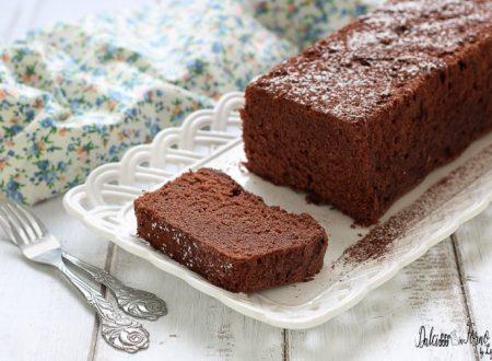 Plumcake al cioccolato con soli albumi, torta semplice con albumi avanzati