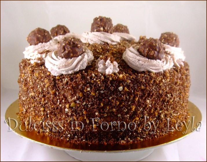 Ricette dolci torta ferrero rocher