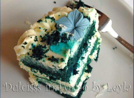 Blue Velvet Cake, ricetta golosa e originale