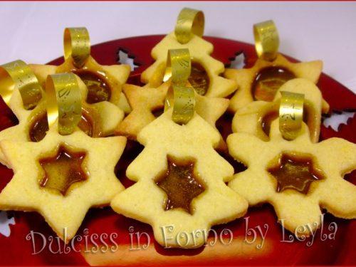 Biscotti di vetro, ricetta biscotti natalizi