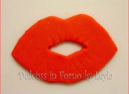 Tutorial labbra al bacio in pasta di zucchero