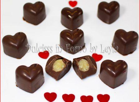 Cioccolatini a cuore fatti in casa, ricetta per un dolce San Valentino