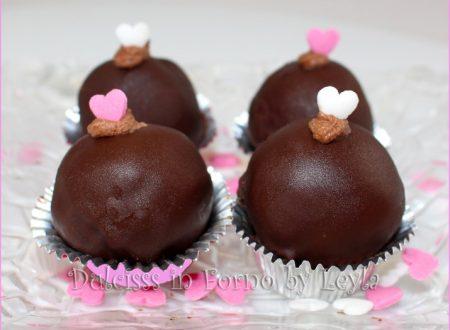 Palline al marzapane e cioccolato, ricetta veloce e golosa