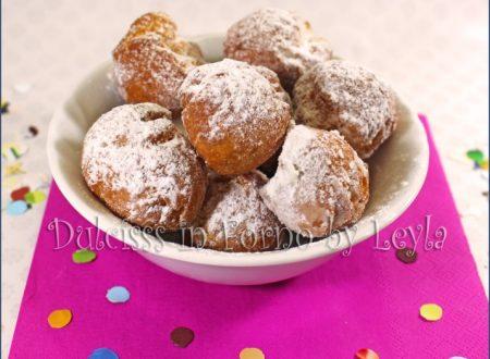 Castagnole allo yogurt, ricetta di Carnevale