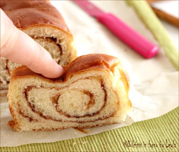 Pane dolce alla Cannella – Cinnamon swirl bread Dulcisss in forno by Leyla