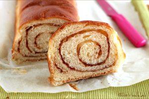 Pane dolce alla Cannella – Cinnamon swirl bread