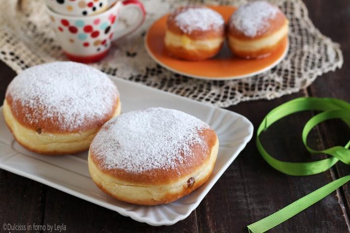 Krapfen alla marmellata Dulcisss in forno by Leyla