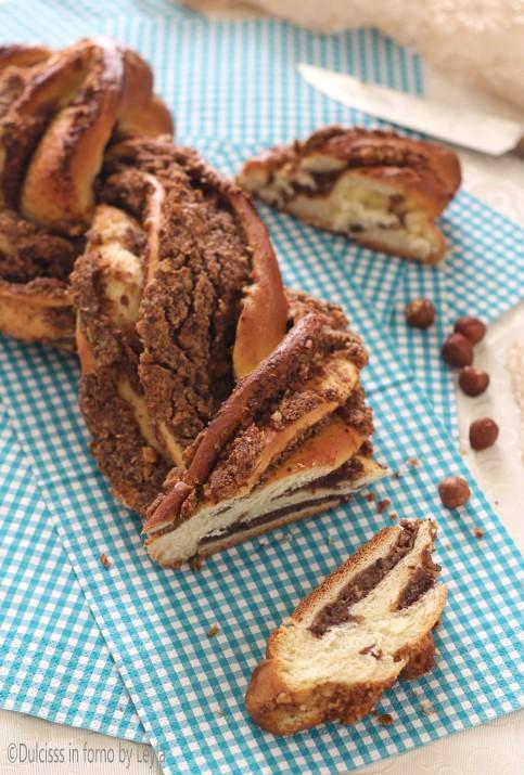 Treccia alle noci o nocciole o Nusszopf, ricetta Alto Adige Dulcisss in forno by Leyla