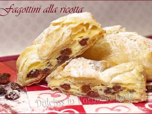 Fagottini alla ricotta di pasta sfoglia o Topfentaschen – Alto Adige