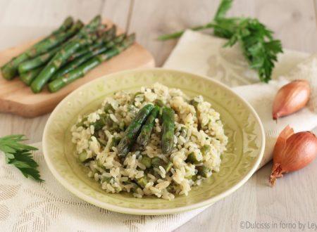 Risotto con asparagi verdi o bianchi, ricetta fantastica !