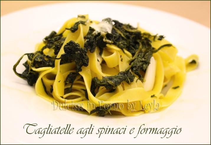 Pasta con spinaci, ricetta primo piatto con gli spinaci