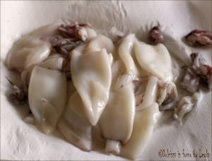 Frittura di totani e calamari, dorata e leggera Dulcisss in forno by Leyla