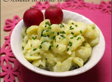 Insalata di patate tirolese dell'Alto Adige: la Kartoffelsalat