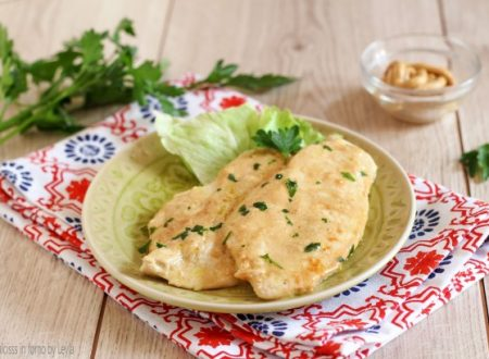 Pollo alla senape e latte, ricetta sfiziosa, light e veloce