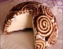Torta gelato con girelle o Zuccotto gelato super veloce