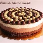 cheesecake al cioccolato bianco e al latte