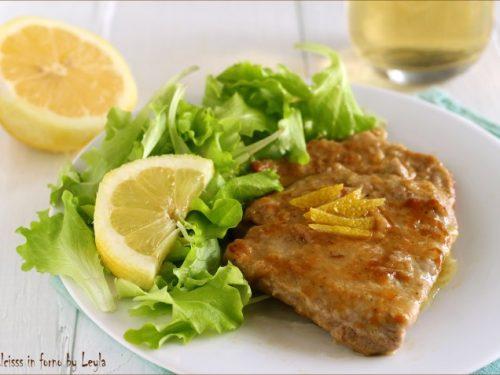 Scaloppine al limone, per una cena diversa