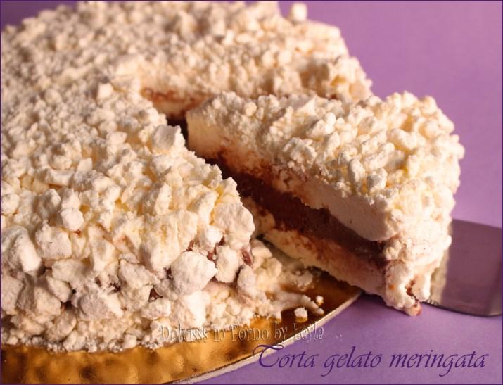 Torta gelato meringata con meringhe panna e cacao for Ricette di torte gelato