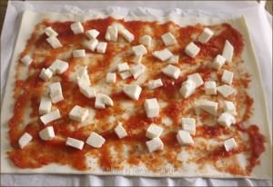 Girelle di pizza di pasta sfoglia Dulcisss in forno by Leyla