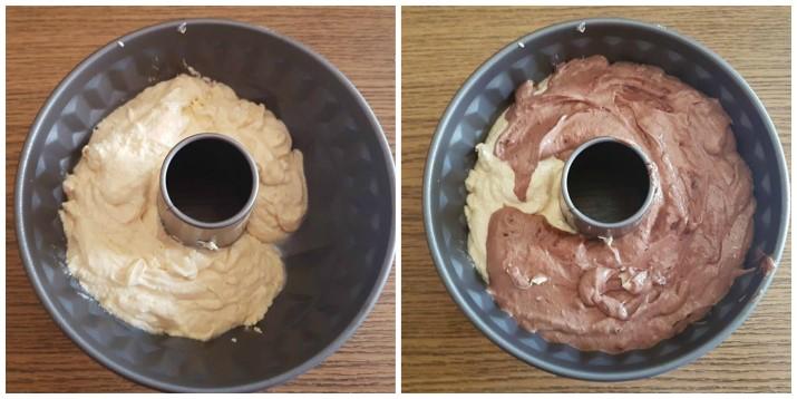 Torta marmorizzata o Marmorkuchen, ricetta tedesca Dulcisss in forno by Leyla