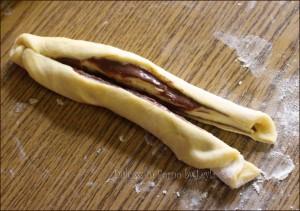 Treccia alla nutella di pan brioche Dulcisss in forno by Leyla