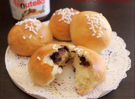 Panini alla nutella di pan brioche o pasta brioche