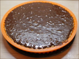 Crostata con mousse al cioccolato Dulcisss in forno by Leyla