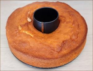Ciambellone con crema al cioccolato glassato: il Ciambellone Nua Dulcisss in forno by Leyla